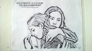 Katniss et sa soeur